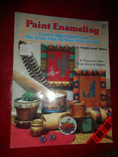 Paint Enameling Book 1990 find me at www.dandeepop.com