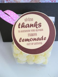 put with the three other ideas shown on the web page makes a box full of THANKS