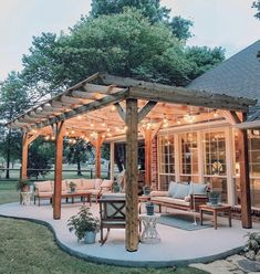 Awesome Backyard Patio Deck Design and Decor Ideas can find Patio decks and more on our website.Awesome Backyard Patio Deck Design and Decor Ideas 11 Patio Deck Designs, Patio Design, Garden Design, Patio Ideas, Porch Ideas, Backyard Ideas, Porch Designs, Landscaping Ideas, Diy Pergola