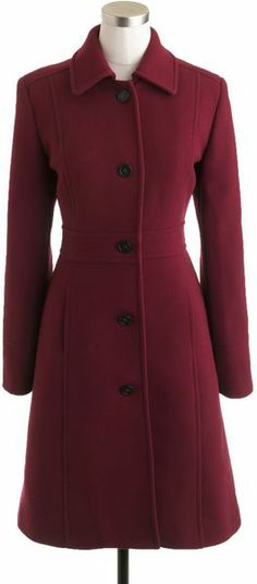 Petite Doublecloth Lady Day Coat with Thinsulate - Lyst