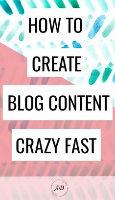 How to Create Awesome Blog Content Super Fast | Productivity Tips and Hacks for Bloggers #onlinebusiness #bloggingtips #bloggerlife #productivity #onlinemarketing