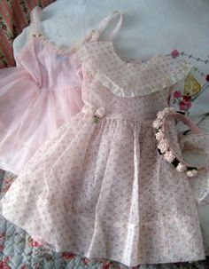 vintage baby dress for Sugarwings by Karla's Cottage, via Flickr