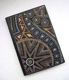 Mandala Art, Mandala Painting, Dot Art Painting, Stone Painting, Aboriginal Dot Art, Creation Deco, Arte Popular, Bookbinding, Stone Art