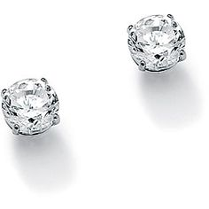@Overstock - Ultimate CZ 10k White Gold Cubic Zirconia Stud Earrings - Dazzling white, round-cut cubic zirconia gemstones adorn these stylish solitaire earrings. Crafted of 10-karat white gold, these earrings shine with a highly polished finish and secure with butterfly clasps.    http://www.overstock.com/Jewelry-Watches/Ultimate-CZ-10k-White-Gold-Cubic-Zirconia-Stud-Earrings/6131535/product.html?CID=214117  USD              74.57