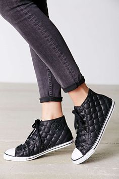 Converse Chuck Taylor All Star Quilted High-Top Sneakers #chucks #shoes #sneakers