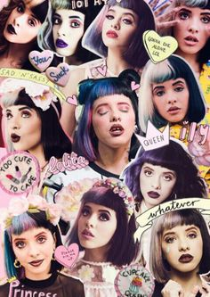 Collage It's Melanie Martinez Pinterest: Frost King❄