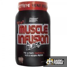 O Muscle Infusion Black da Nutrex é um suplemento alimentar rico em proteínas e aminoácidos. Possui em sua formulação uma mistura com sete tipos de proteínas que em contato com o organismo, começam a agir instantaneamente, além de permanecer agindo durante horas após o seu uso, levando uma quantidade significativa de aminoácidos anabólicos para os músculos.