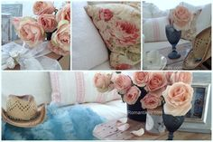 Florals-Shabby Chic -Country girl