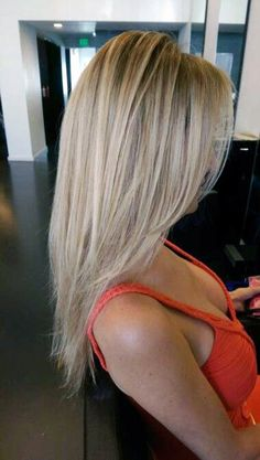 katlı uzun saç kesimi