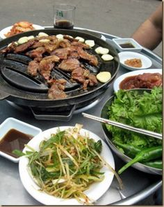 South Korean bbq.my most favorite besides the kimchi soup!!