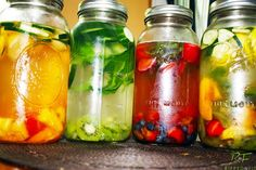 Loaded with antioxidants, this fruit infused water is easy to make and a great alternative to sodas and sugary drinks. Here's how to make your own at home.