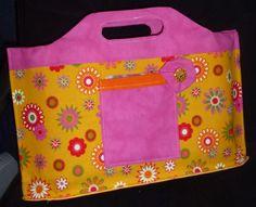 Tasche selber genäht als Geschenkverpackung