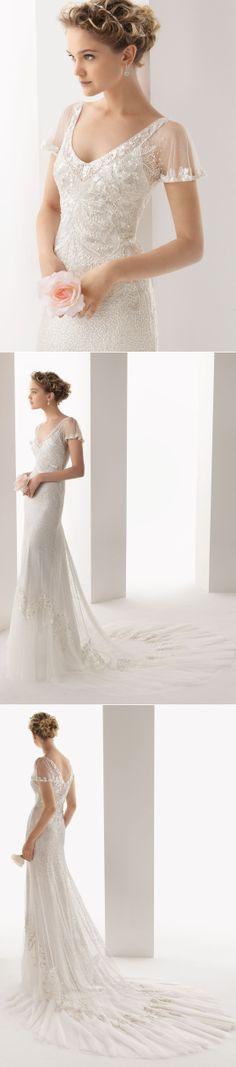 Rosa Clara / Soft Collection 2014 / ULISES Beaded Dress - wedding dress, bridal gown