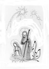 Bildergebnis für bobbin lace Natal / Christmas Bobbin Lace Patterns, Tatting Patterns, Crochet Patterns, Fabric Stiffener, Vbs Crafts, Lacemaking, Theme Noel, Point Lace, Needle Lace