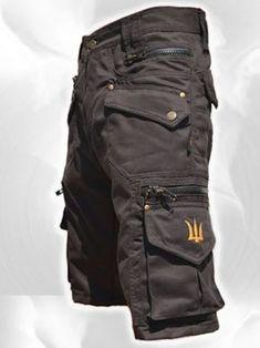 Men Short Pants Hipster Tribal Steampunk Cargo Pants