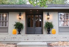 exterior colors for ranch style homes - Google Search