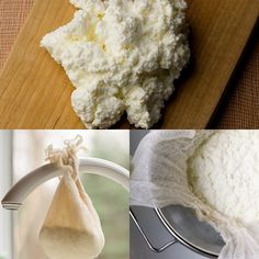 ... : Fresh Ricotta in Five Minutes or Less | Ricotta, Fresh and Homemade