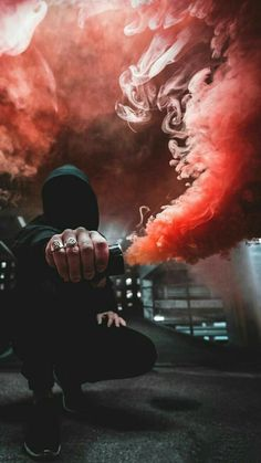 Photography Discover New editing background Smoke Bomb Photography, Urban Photography, Creative Photography, Photography Poses, Smoke Wallpaper, Screen Wallpaper, Smoke Pictures, Cool Pictures, Rauch Tapete
