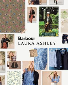 Discover the story of the #BarbourLauraAshley AW20 collection.  A shared appreciation for the Great British countryside was the inspirational starting point behind this collaboration. Alongside the iconic photograph of our founder, Laura Ashley wearing a classic waxed Barbour jacket on the 1990 cover of 'A Life By Design' by Anne Sebba. From there, we embarked upon the journey of signature Laura Ashley prints meeting traditional Barbour styles.