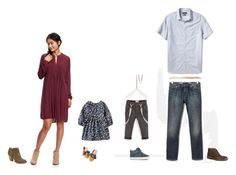 """""""Peperak Family"""" by silverpenniesphotography on Polyvore featuring Old Navy, Banana Republic and Trask"""