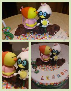 Calimero cake - Sweet & Salty