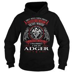 ADGER Good Heart - Last Name, Surname TShirts