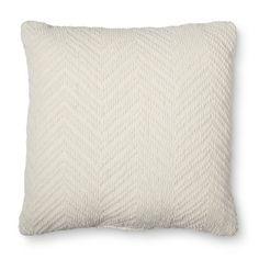 Threshold™ Chenile Chevron Toss Pillow