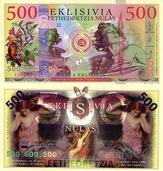 500 Nulas  UNC Banknote