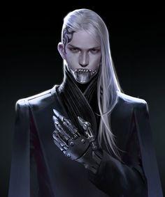 [snod snow] 아틈 강사 Cyberpunk Rpg, Cyberpunk Aesthetic, Cyberpunk Fashion, Character Concept, Character Art, Concept Art, Fantasy Races, Sci Fi Fantasy, Ex Machina