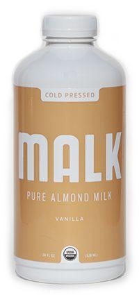 vanilla almond milk