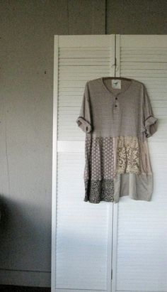 Eco upcycled clothing Tattered Romantic by lillienoradrygoods, $89.50