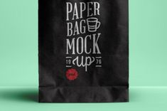 This is an elegant psd paper bag mockup to showcase your merchandising brand identity designs. You can easily adjust the bag...