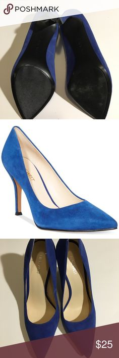 Nine West royal blue heels Perfect new condition! No flaws! Nine West Shoes Heels