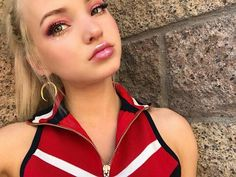 "Dove Cameron posted on her Instagram. "" vegas for a day @papermagazine """