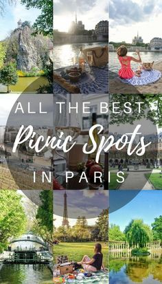 So you've got some friends together and prepared a picnic, what next? Well, find a spot to eat, of course. A guide to the best picnic spots in Paris, Frace