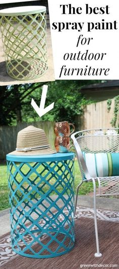 51 best painted outdoor furniture images garden furniture outside rh pinterest com