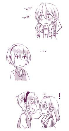 Fire Emblem: If/Fates - Leon gives Kamui a gift (1/4)