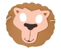 Buy Foam Lion Mask | Just £0.99 | Fancy Dress Headgear