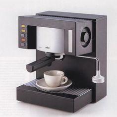 Braun Espresso Master professional E 400 T  iF DESIGN AWARD 1992