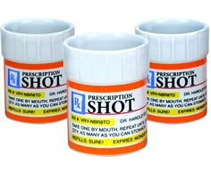 Prescription Shot Glass