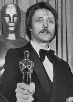 "Christopher Walken wins Best Supporting Actor for his role in ""The Deer Hunter."""