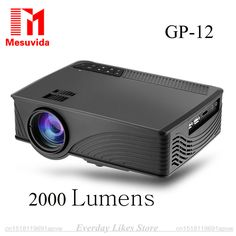>> Click to Buy << GP-12 Mini Home Cinema Theater HD GP12 3D LED Lamp Protable Projector 2000 Lumens 800*480 Pixels Video Micro Teaching Projector  #Affiliate