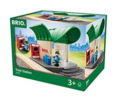 Shop for Brio 33745 Train Station Playset. Starting from Choose from the 4 best options & compare live & historic toys and game prices.