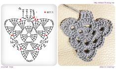 Crochet Tree, Crochet Bunting, Crochet Angels, Crochet Crafts, Crochet Flowers, Crochet Projects, Diy Crafts, Crochet Earrings Pattern, Crochet Coin Purse