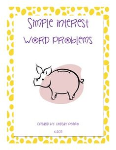 math worksheet : 1000 images about math percents on pinterest  decimal  : Simple Interest Math Worksheets