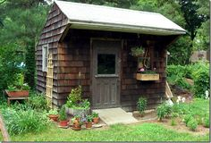 Rustic Garden Sheds | ... are pretty, so let's call it a garden shed and include here