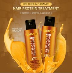 Hair Therapy Keratin Hair Mask Treatment Frizz-free Make Hair Smoothing Shine  #HairTherapyChina