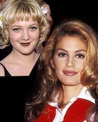 25 Years of American Beauty Trends 90s Makeup, Hair Makeup, Makeup Trends, Beauty Trends, 1990s Trends, 80s Hair, Linda Evangelista, Retro Hairstyles, Cindy Crawford