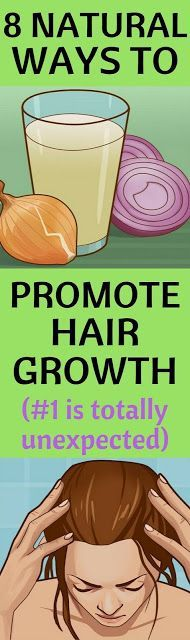 Promote Hair Growth With This 8 Natural Remedies ( #1 is totally unexpected )