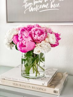 Peony Tips and Tricks for A Beautiful Arrangement via @modernglamhome